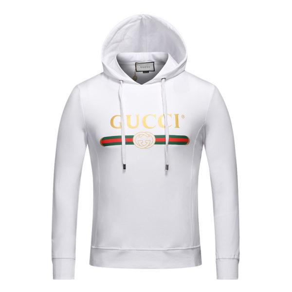 a89c77dce Gucci Sweatshirt with Gucci logo fake cheap hoodie