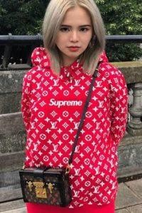Supreme Hoodie x LV Supreme Hooded sweatshirt fake