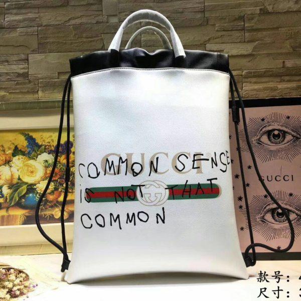Backpack Coco capitan phrase white 2018