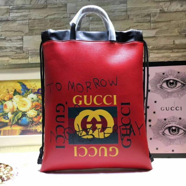 Backpack Coco capitan phrase Red 2018