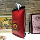 Gucci AAA Quality Hangbags Coco capitan Red