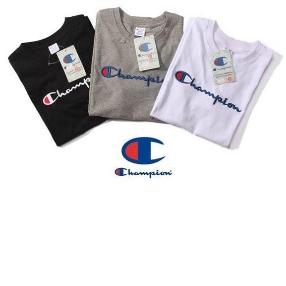 Champion tshirt for Men and Women