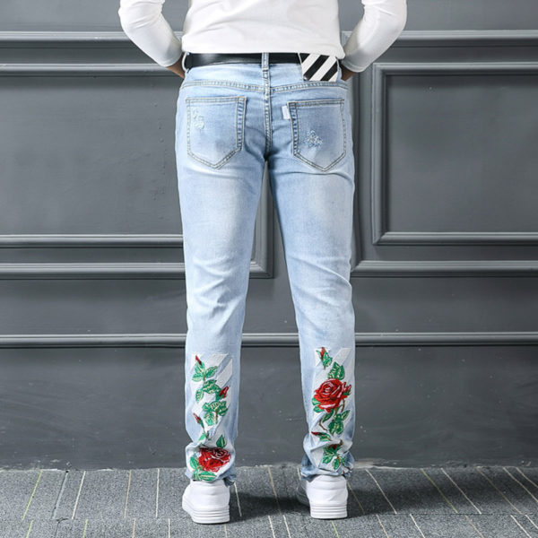 OFF-White Pants Jeans for Men