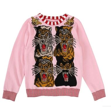 Fashion Sweaters Pink for Women