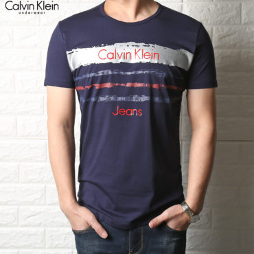Calvin Klein T-shirts Blue for Men