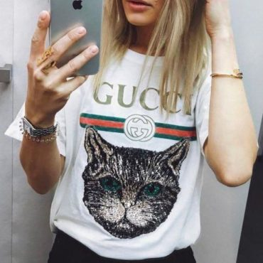 """Gucci""Hot letters print T-shirt"