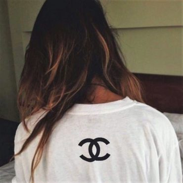 Chanel t shirt logo cc coco chanel cheap sweatshirt hoodie