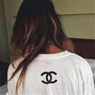 Chanel t shirt logo cc coco chanel cheap sweatshirt hoodie