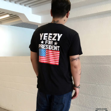 yeezy for president usa tshirt