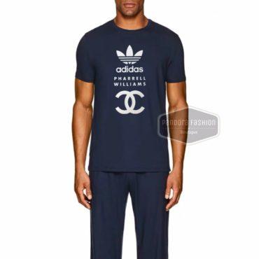 clover sportswear t-shirt new men's Red black white